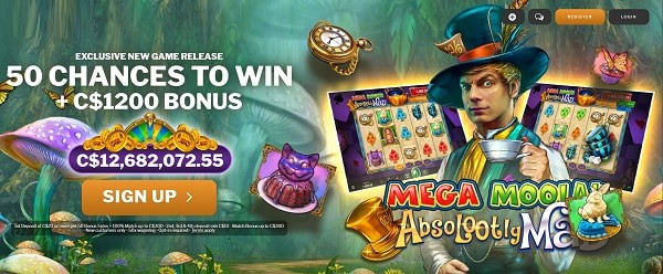 Absolutely Mad Moolah free spins