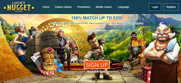 $200 bonus and 350 free spins for new players