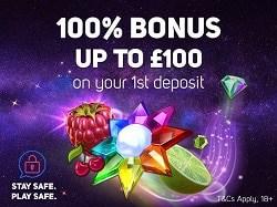 100% welcome bonus offer