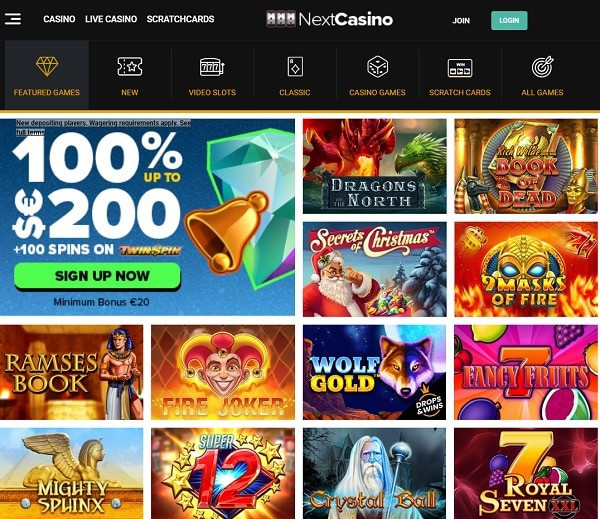 Exclusive casino promotion