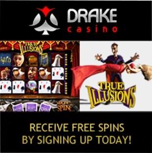 Drake Casino free spins