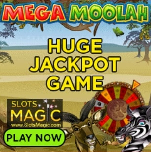 SLOTS MAGIC - 200 free spins and €400 casino bonus