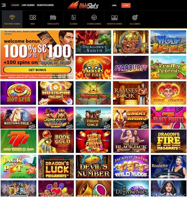 Wildslots Casino Online Review