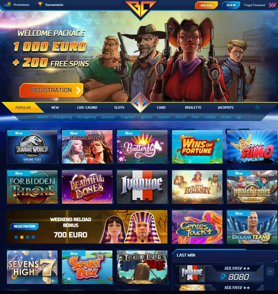 Buran Casino Online - free games for all players!