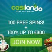Casilando Casino banner 250x250