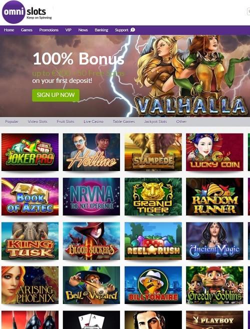 OmniSlots.com Casino Review