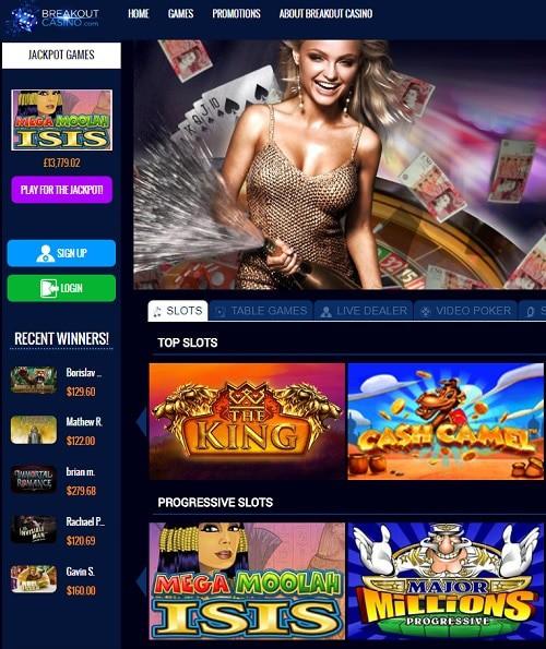 BreakOutGaming Casino Review