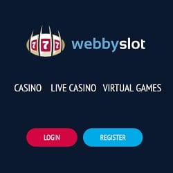 Webby Slot Casino 100 free spins or 100% up to €200 welcome bonus