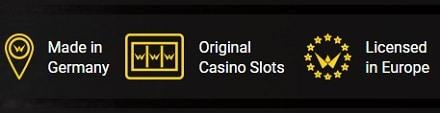 Winfest Casino game, slots, live dealer