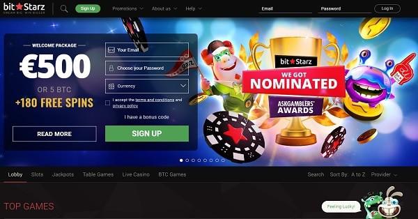 Register & Login to Play Bitcoin Casino