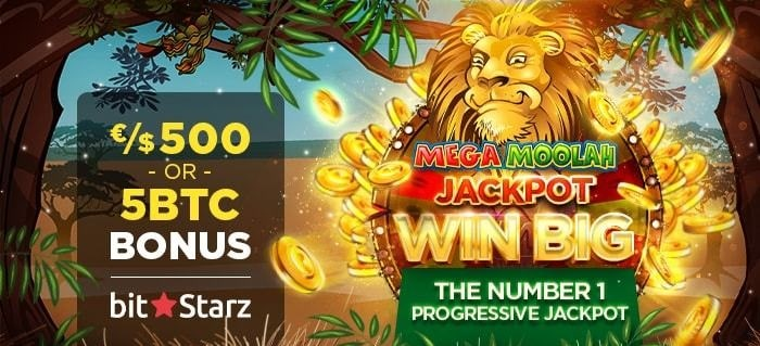 Get 5 Bitcoin or 500 EUR/USD welcome bonus! Plus 200 free spins (20 FS no deposit required)