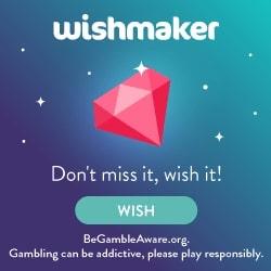 Wishmaker Casino 100 Wish Spins & £100 Welcome Bonus