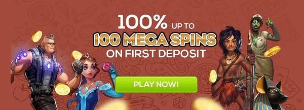 Queen Vegas Casino 100% bonus