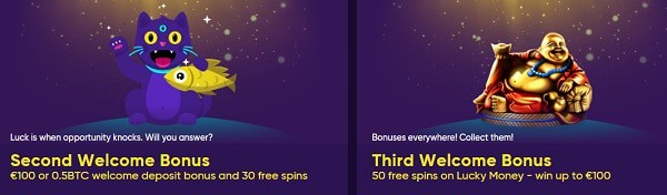 Keep playing and get more bonuses and promotions!