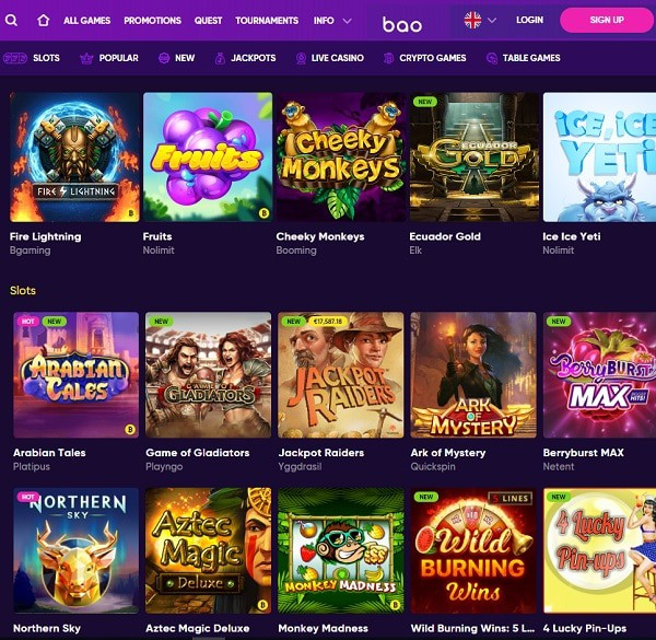 Play in the best Bitcoin Casino online and mobile!