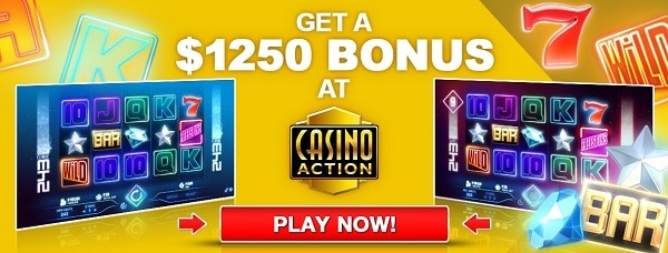 $1250 free bonus on Microgaming slots