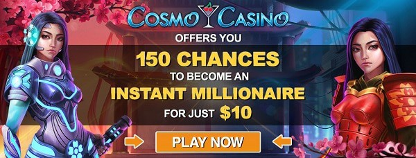 150 free spins on jackpot slots by Microgaming