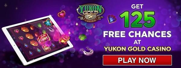 Get 125 free chances in welcome bonus!