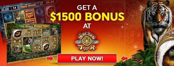 Golden Tiger Online Casino Free Spins
