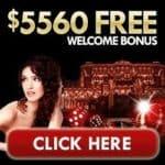 Get $5,560 free spins welcome bonus to Grand Hotel Casino!
