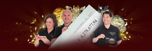 Big Winners in Microgaming Casino by Casino Rewards