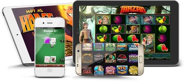 Microgaming slots, jackpots and table games