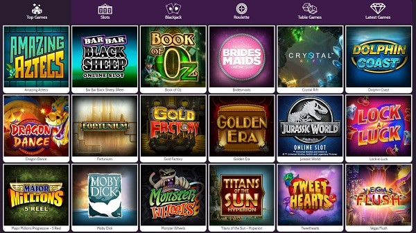 Mummys Gold Casino premium slots and table games from Microgaming software studio