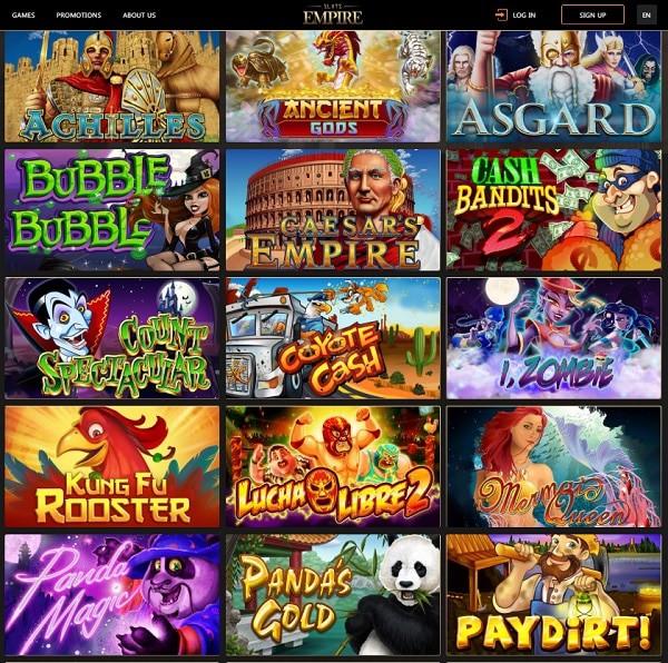 Slots Empire online games