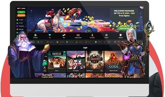 Betamo Casino Online / Mobile Games