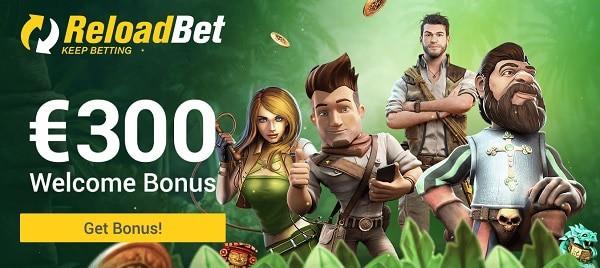 Reload Bet Online Casino Games