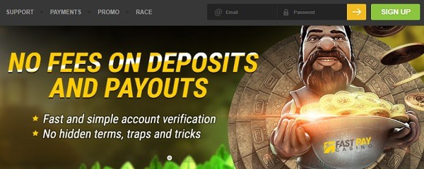 Fast deposits and cashouts in online casinos