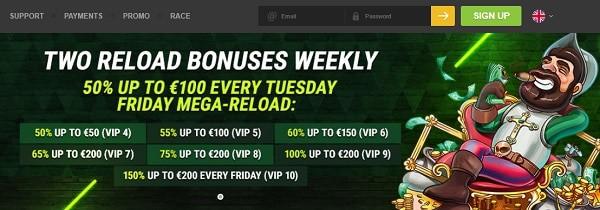 Exculusive Casino Bonuses