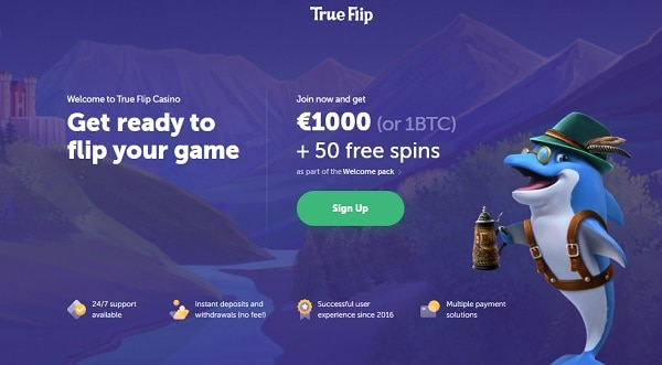 Register, deposit, play, and win!