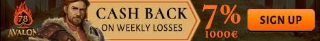 Exclusive CashBack Bonus