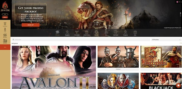 Avalon78 Casino Full Review & Free Bonuses