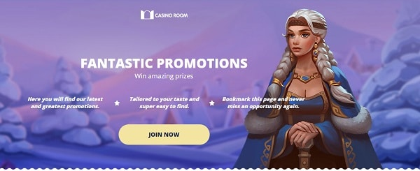 Enjoy daily promotions, tournaments and free spins!