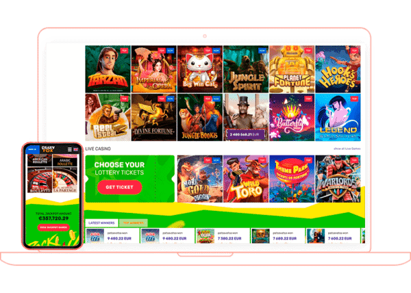 Crazy Fox Casino Online and Mobile (App) Review