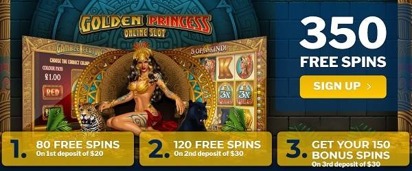 350 gratis spins