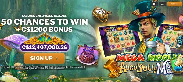 50 new free spins