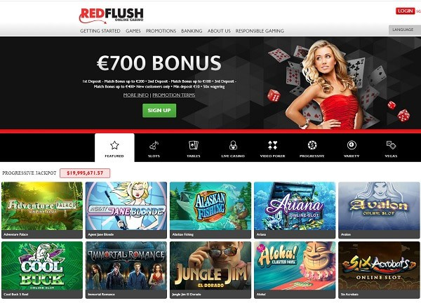 Red Flush Casino Review