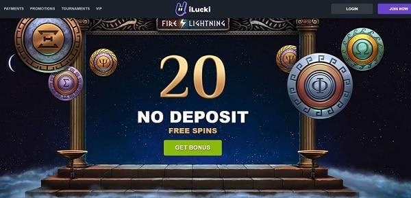 20 No Deposit Spins