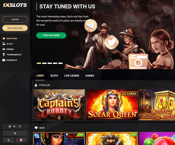 1XSlots.com Casino Review