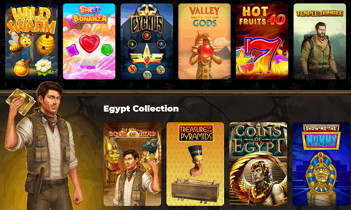 The Best Games at Amun Ra Casino Online!