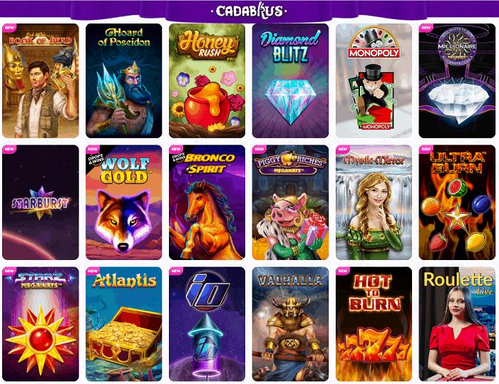Cadanbrus Casino Online Free Spins Bonus