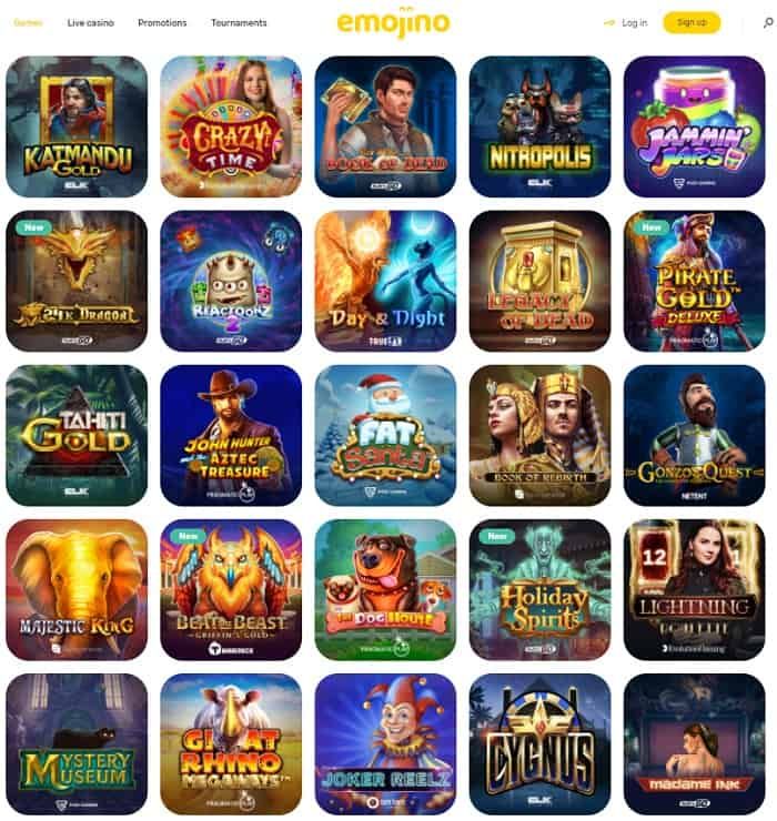 Open Your account and play with free spins!