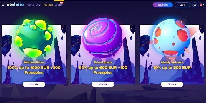 Exclusive bonus and free play slots