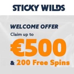 500 EUR or 1400 AUD free bonus and 200 free spins on Pokies