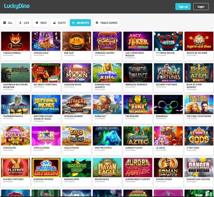 Dino Casino free spins bonus