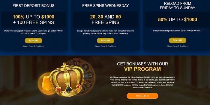 100 mBTC welcome bonus