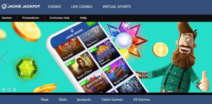 Jackie Jackpot Casino Free Spins Bonus
